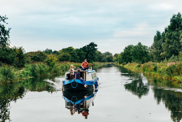 Boat Ride on an Irish River