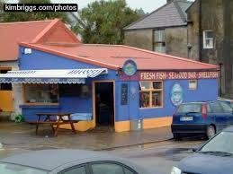 Out of the Blue Restaurant. Dingle