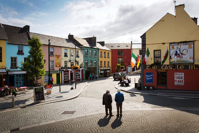 Town life in Ireland