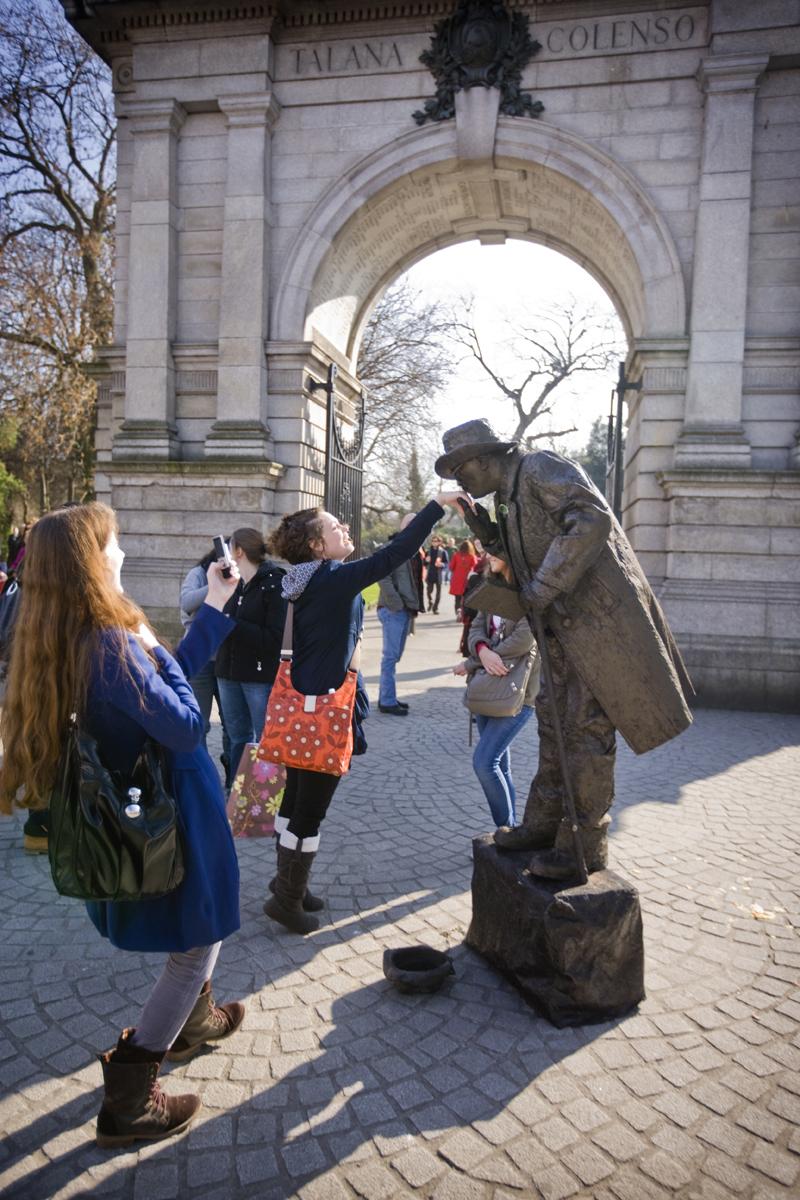 Stephens Green Entrance, Dublin