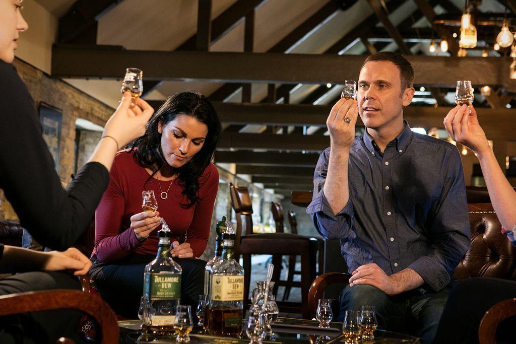Whiskey Tastinf in Ireland