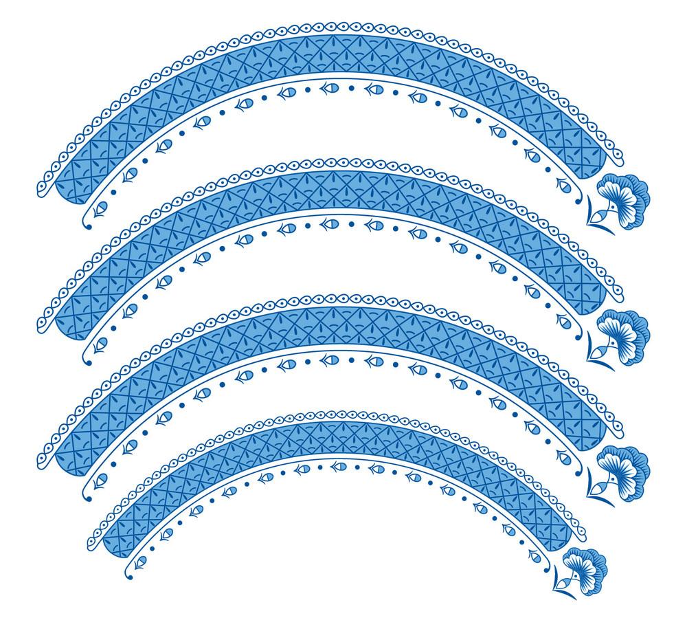 Serviço Azul - Pratos