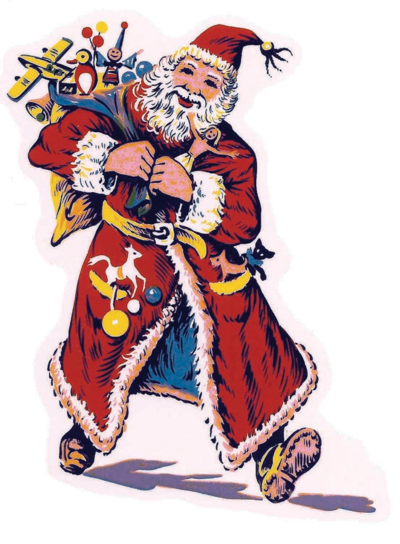 Pai Natal e Velas