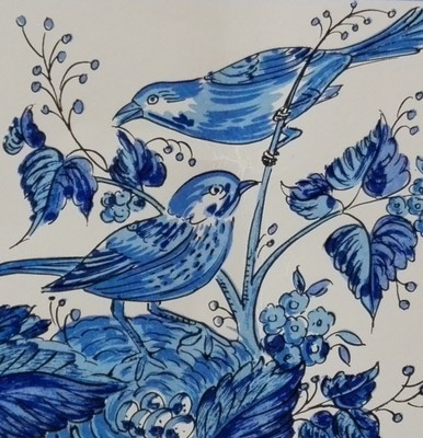 Pássaros Azuis 11x11