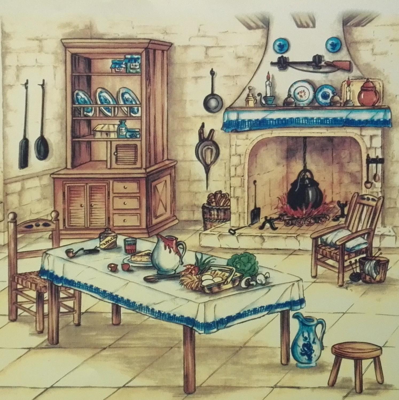 Painel Cozinha Antiga
