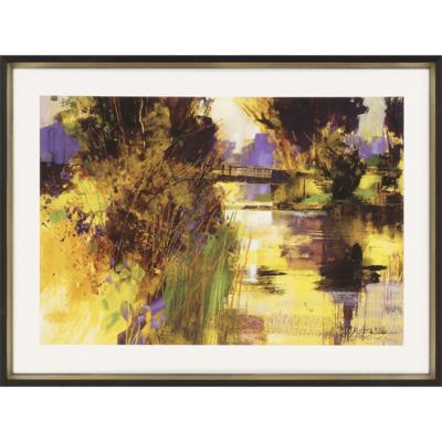 Bridge and Glowing Light Giclée