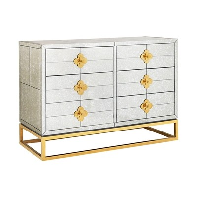 Delphine Six-Drawer Dresser