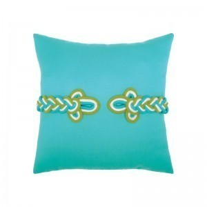 """Elaine Smith Frog's Clasp Indoor/Outdoor 19"""" x 19"""" Pillow 