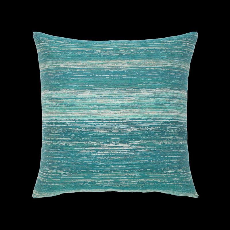 "Elaine Smith Textured Lagoon 20"" x 20"" Indoor/Outdoor Pillow"