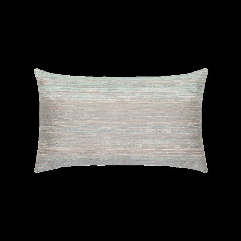 """Elaine Smith Textured Mist 12"""" x 20"""" Indoor/Outdoor Lumbar Pillow"""