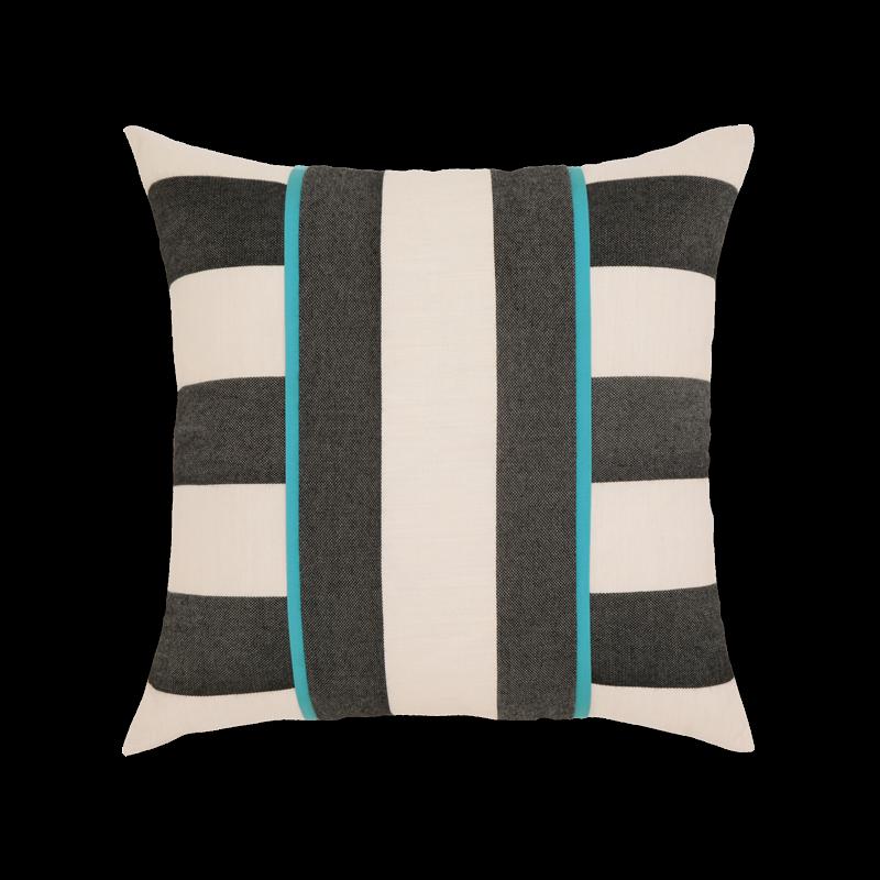"""Elaine Smith Harmony Stripe 20"""" x 20"""" Indoor/Outdoor Pillow"""