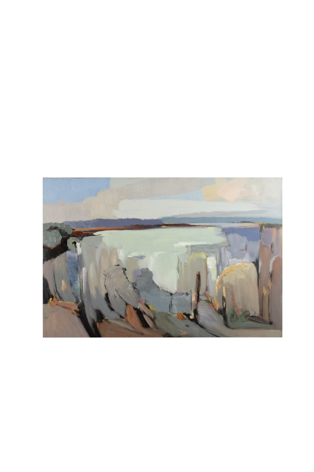 Canyon Oil Painting
