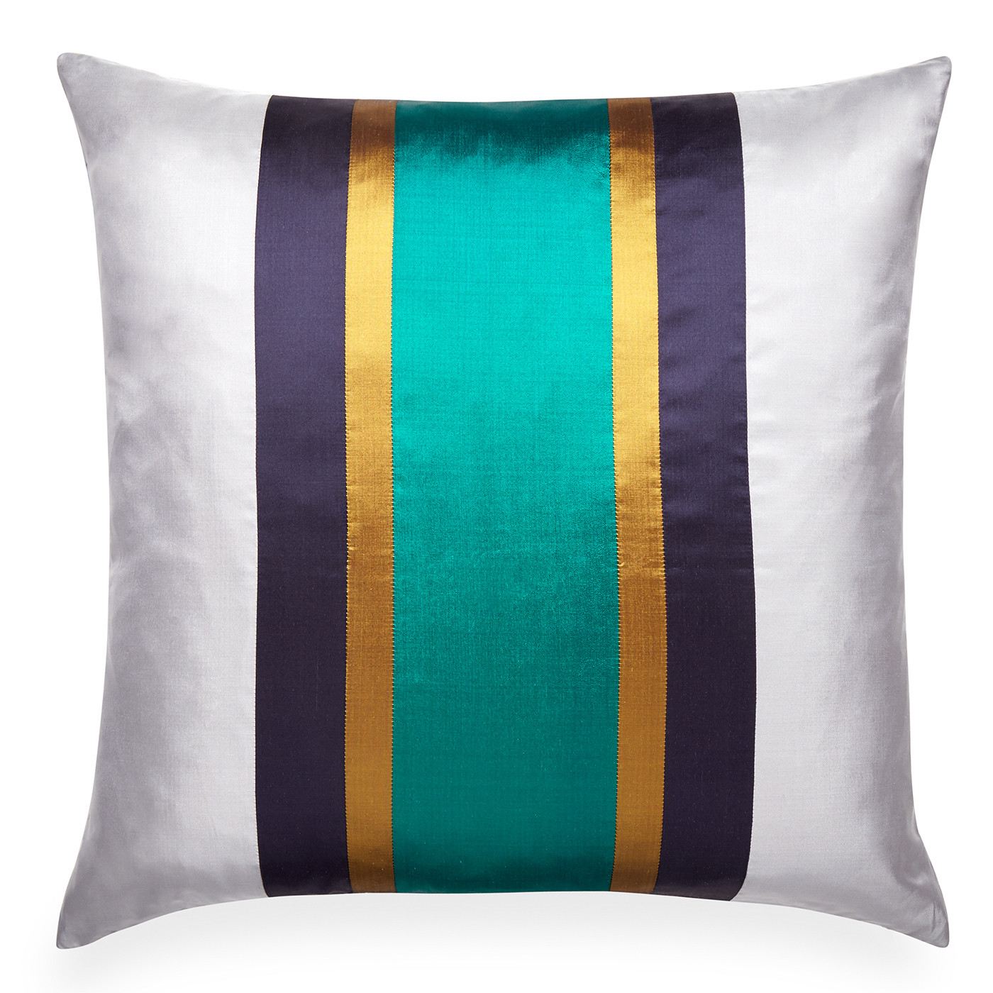 "Jonathan Adler Siam Zip Emerald  22"" Square Pillow"