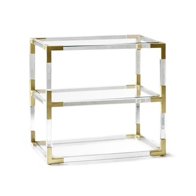 Jonathan Adler Two Tier Side Table | 3 Finishes