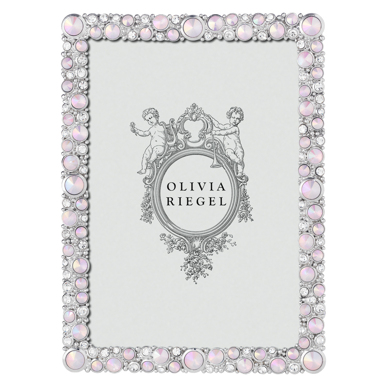 "Olivia Riegel Silver Rose McKenzie 5"" x 7"" Frame"