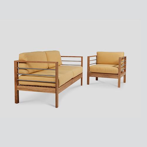 Soho Patio Teak Sofa Set