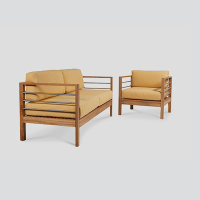 Soho Patio Teak Sofa Set