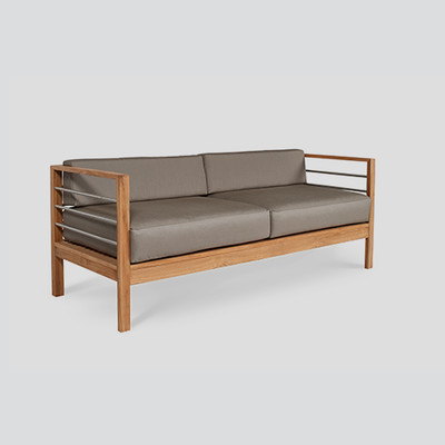 Soho Patio Teak Sofa