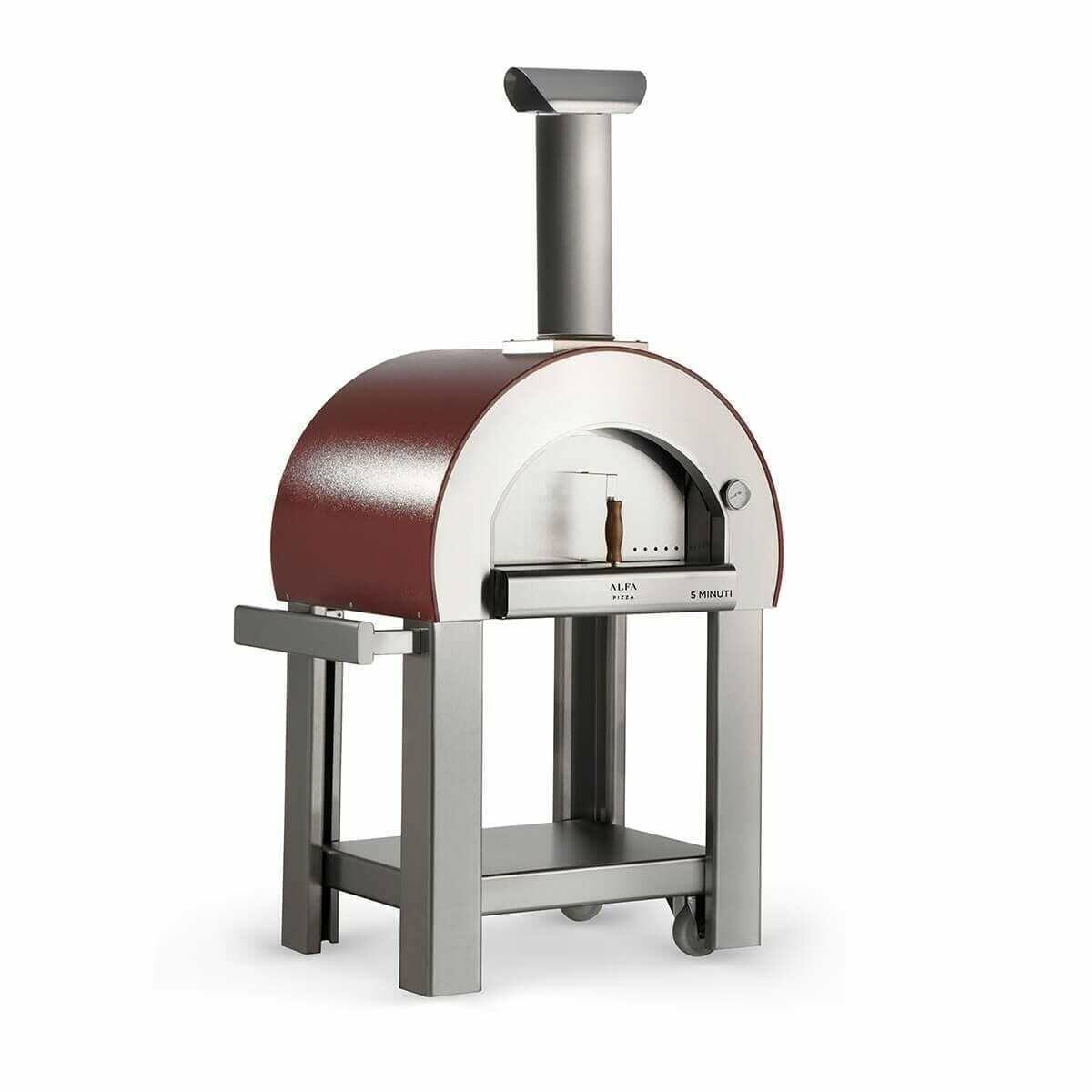 Alfa 5 Minuti Wood Fired Oven with Base