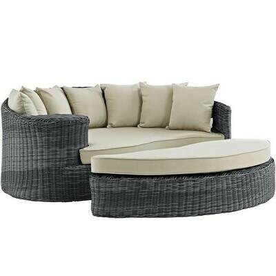 North Avenue Patio Daybed with Sunbrella® Cushion | 5 Colors