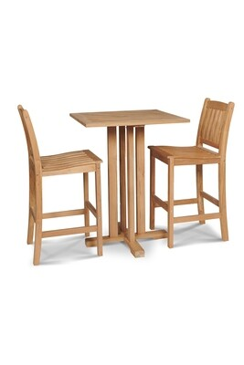 Oasis Bar Set | Armless Bar Stool