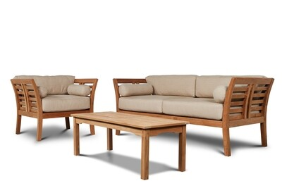 Paris Outdoor Teak Sofa Set