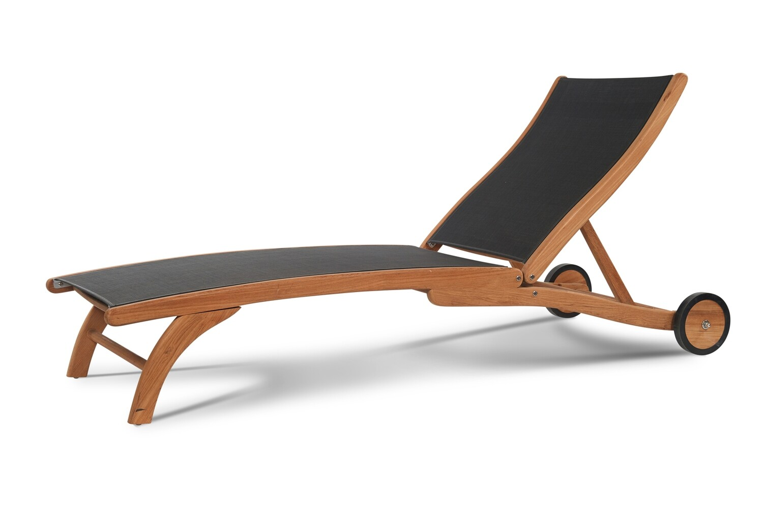 Pearl Teak Chaise Lounge | 3 Colors