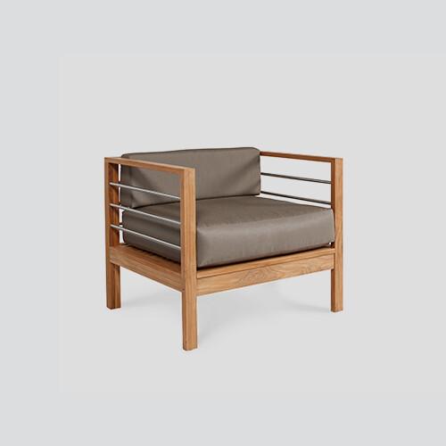 Soho Patio Teak Club Chair