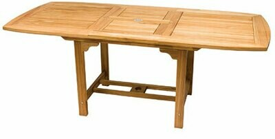 Teak Extendable Dining Table  | 3 Sizes