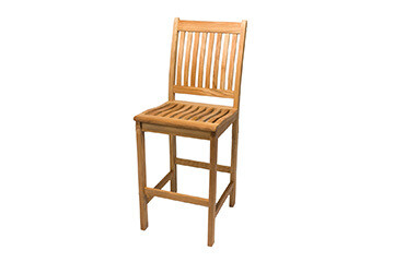 South Beach Teak Bar Chair | Set of 2