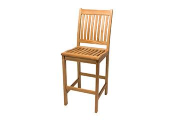 South Beach Teak Bar Chair | Set of 2