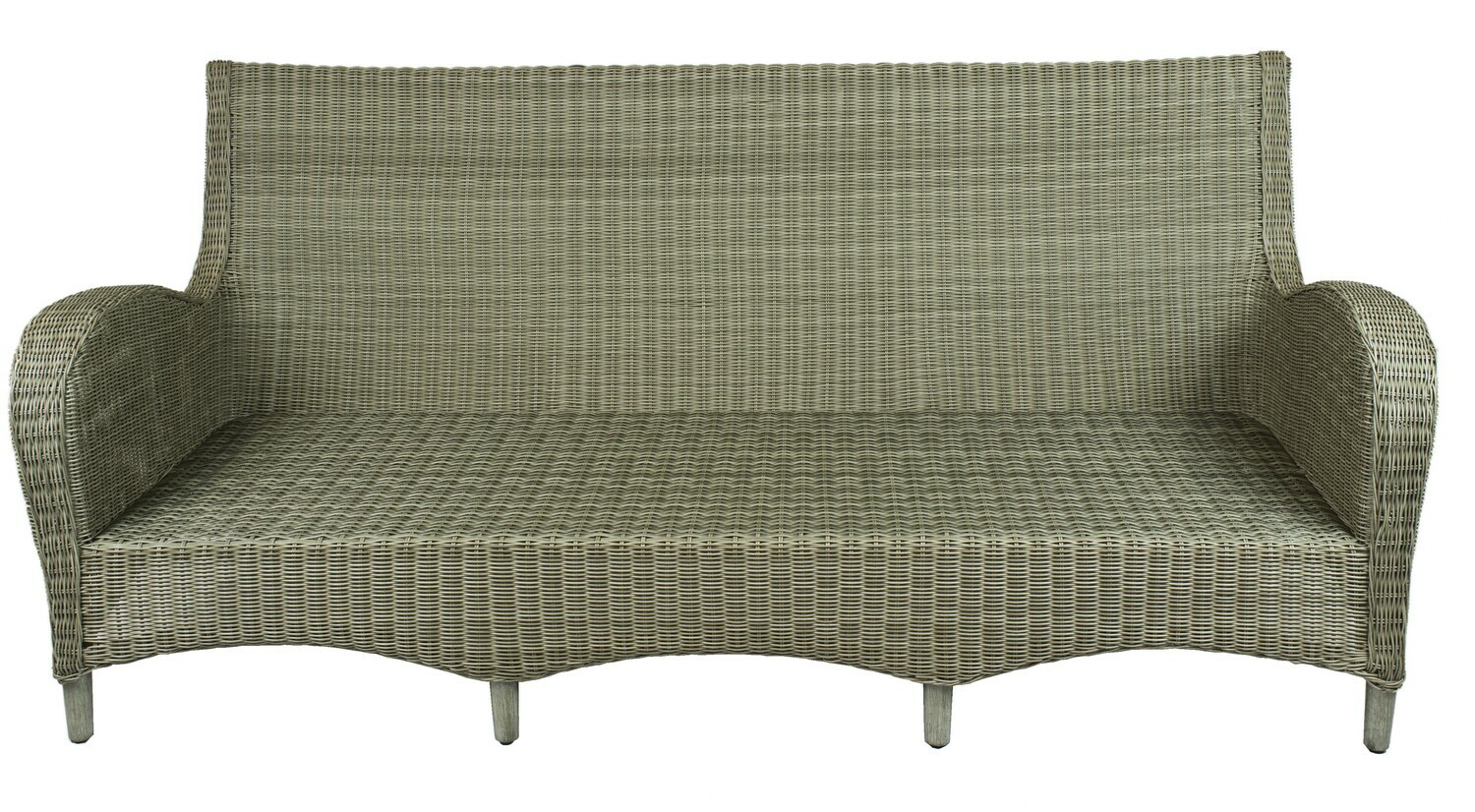 Ashland Wicker Collection Sofa