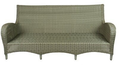 Ashland Wicker Collection Sofa