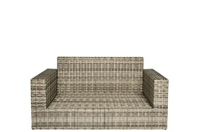 Allegro Wicker Collection Loveseat
