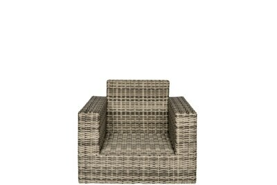 Allegro Wicker Collection Club Chair