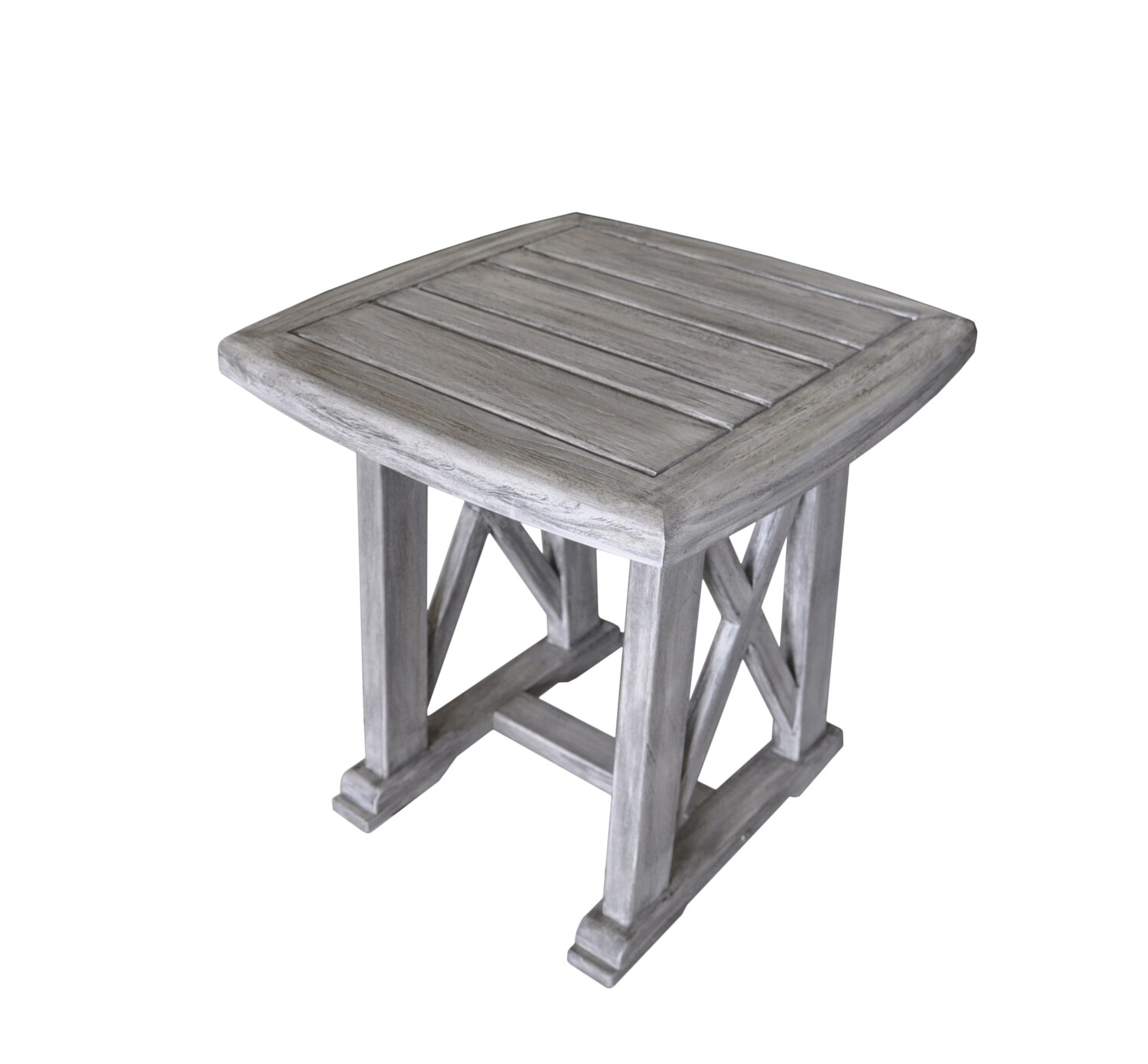 Beach Side Teak Side Table