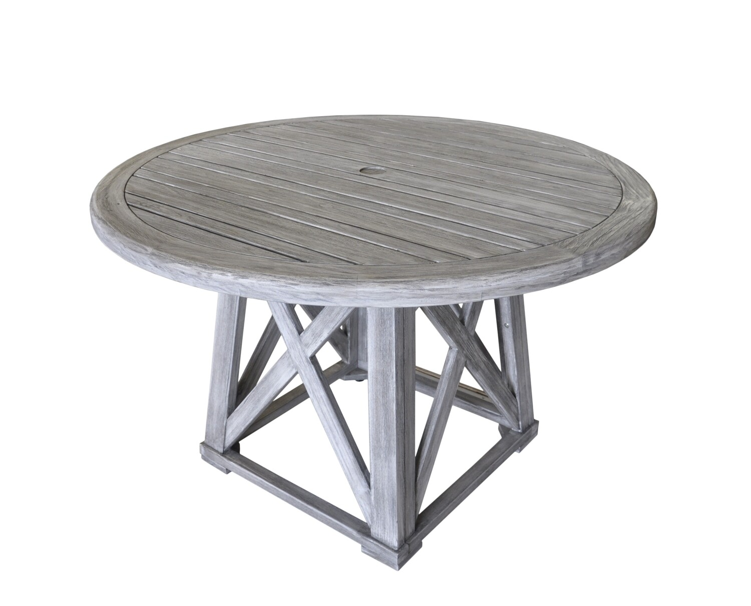 Beach Side Teak Round Dining Table