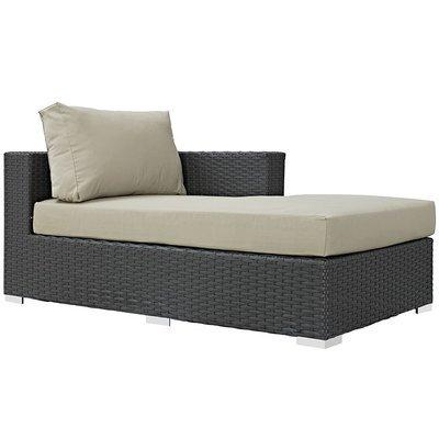 Soho Patio Right Arm Chaise with Sunbrella® Cushion