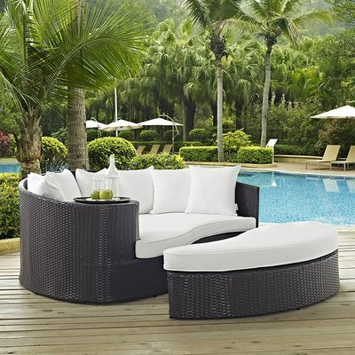 Hinsdale Patio Circular Daybed