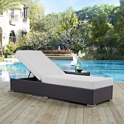 Hinsdale Patio Chaise Lounge | 7 Colors