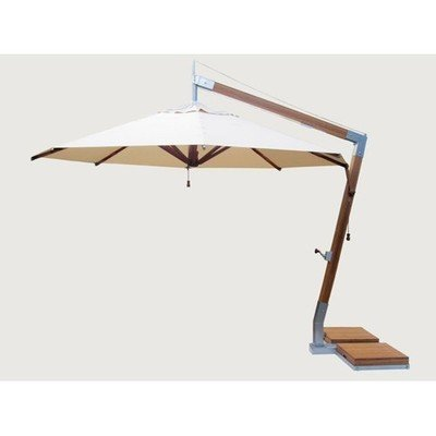 Round Cantilever 11.5' Market Umbrella | 9 colors