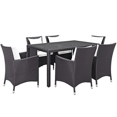 Hinsdale Patio 7 Piece Dining Set
