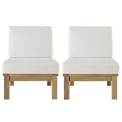 Belmont Harbor Sectional Sofa Armless Seat (Set of 2)