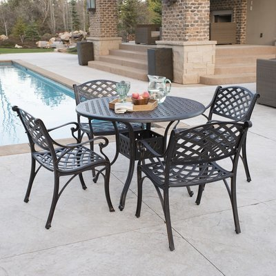 Hyde Park 5-Piece Patio Dining Set