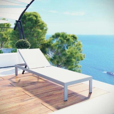 Shoreline Sun Lounger | Mesh