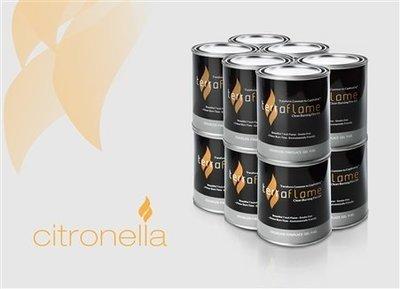 SunJel Citronella Fuel Canister - 12 Pack