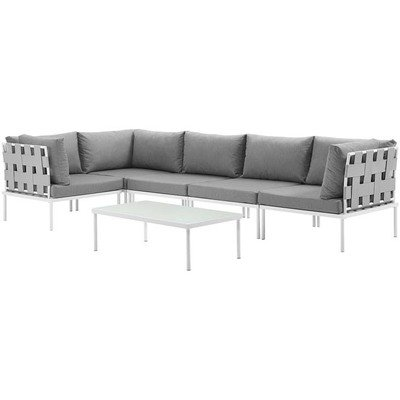 Veranda 6 Piece Sectional Sofa Set