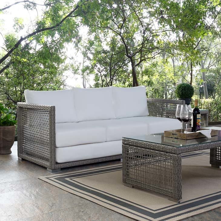 Auroa Patio Collection Sofa