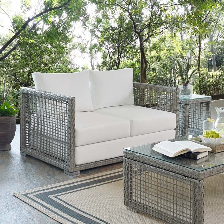 Auroa Patio Collection Loveseat