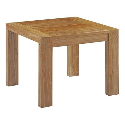 Uptown Teak Collection Side Table
